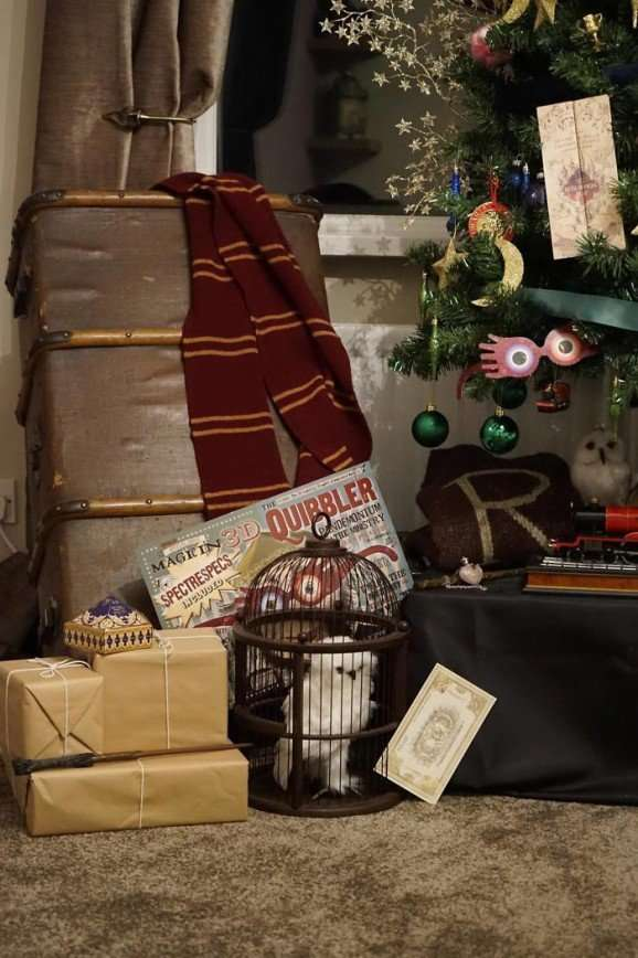 Ёлка в стиле Гарри Поттера