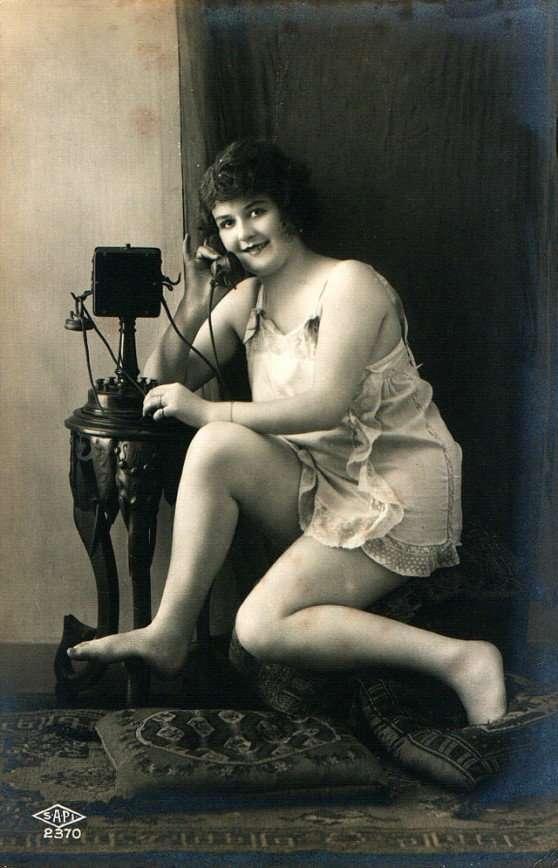 Гламурные красавицы сто лет назад